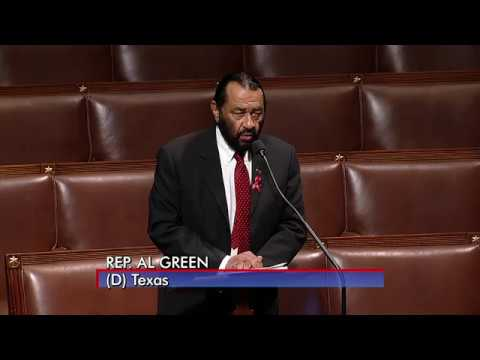 Rep. Al Green -- 30min Floor Speech on Impeachment