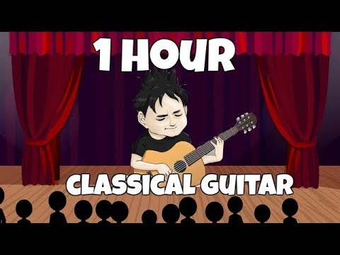 1 Hora Só De Música (Violão Clássico) Fabio Lima Classical Guitar