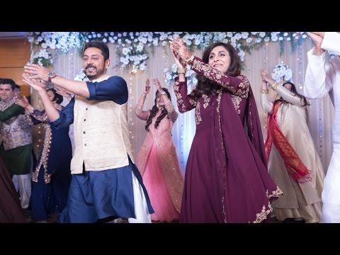 ChashmaRanjan Sangeet: Bride's (my!) Parents And The Family Dance To Galla Gudiya! {song 18}