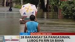 BT: 28 barangay sa Pangasinan, lubog pa rin sa baha