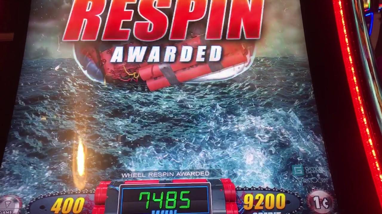 Sharknado slot machine bonus