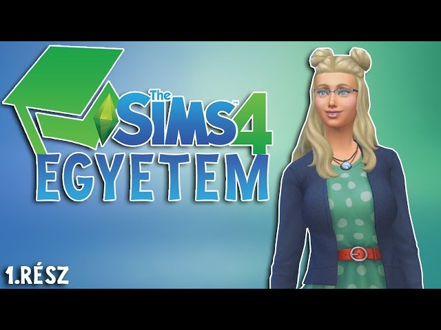 Pedáns Petra menni Egyetem! - The Sims 4 Discover University