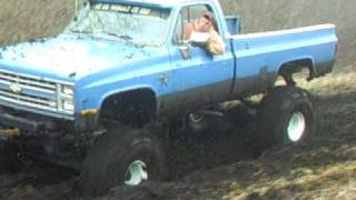chevy truck mudding 44 boggers