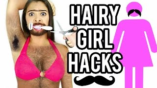 10 HAIRY GIRL HACKS EVERY HAIRY GIRL SHOULD KNOW! NataliesOutlet