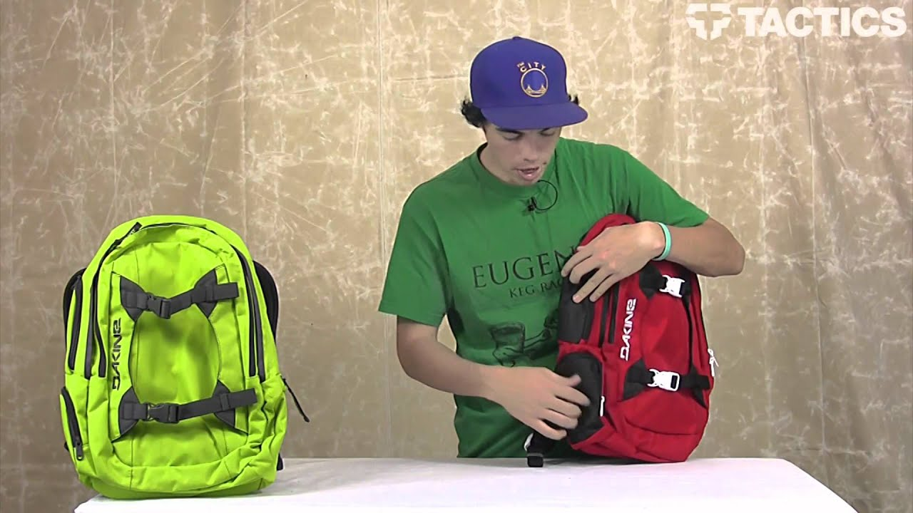 DAKINE 2012 Mission Backpack Review - Tactics.com - YouTube