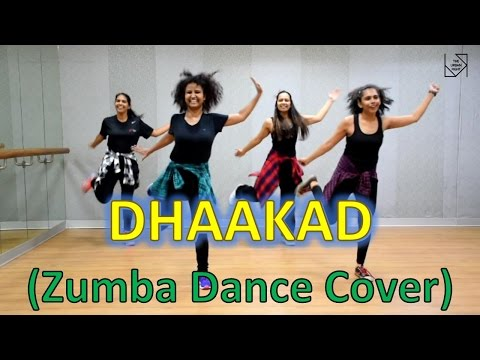 "Best Zumba Dance Workout on ""DHAAKAD"" 
