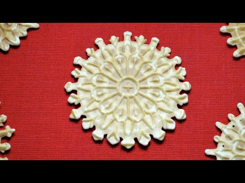 How To Make Pizzelle-An Italian Cookie Recipe