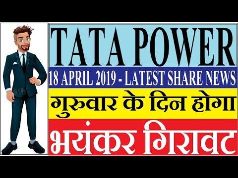 TATA POWER SHARE - गुरुवार के दिन होगा TATA POWER में भयंकर गिरावट | LATEST SHARE NEWS | STOCK
