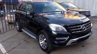 Купить Мерседес M-класса 2013 года (W166) черный бензин 350 - Москва(, 2016-02-19T09:51:07.000Z)
