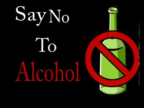 Say No To Alcohol Youtube