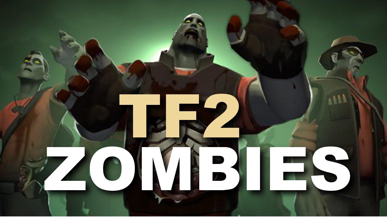 TF2 ZOMBIES! Crazy Custom Games! BRAINZZ! - Vloggest