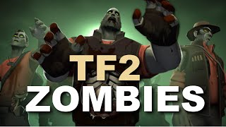 TF2 ZOMBIES! Crazy Custom Games! BRAINZZ!
