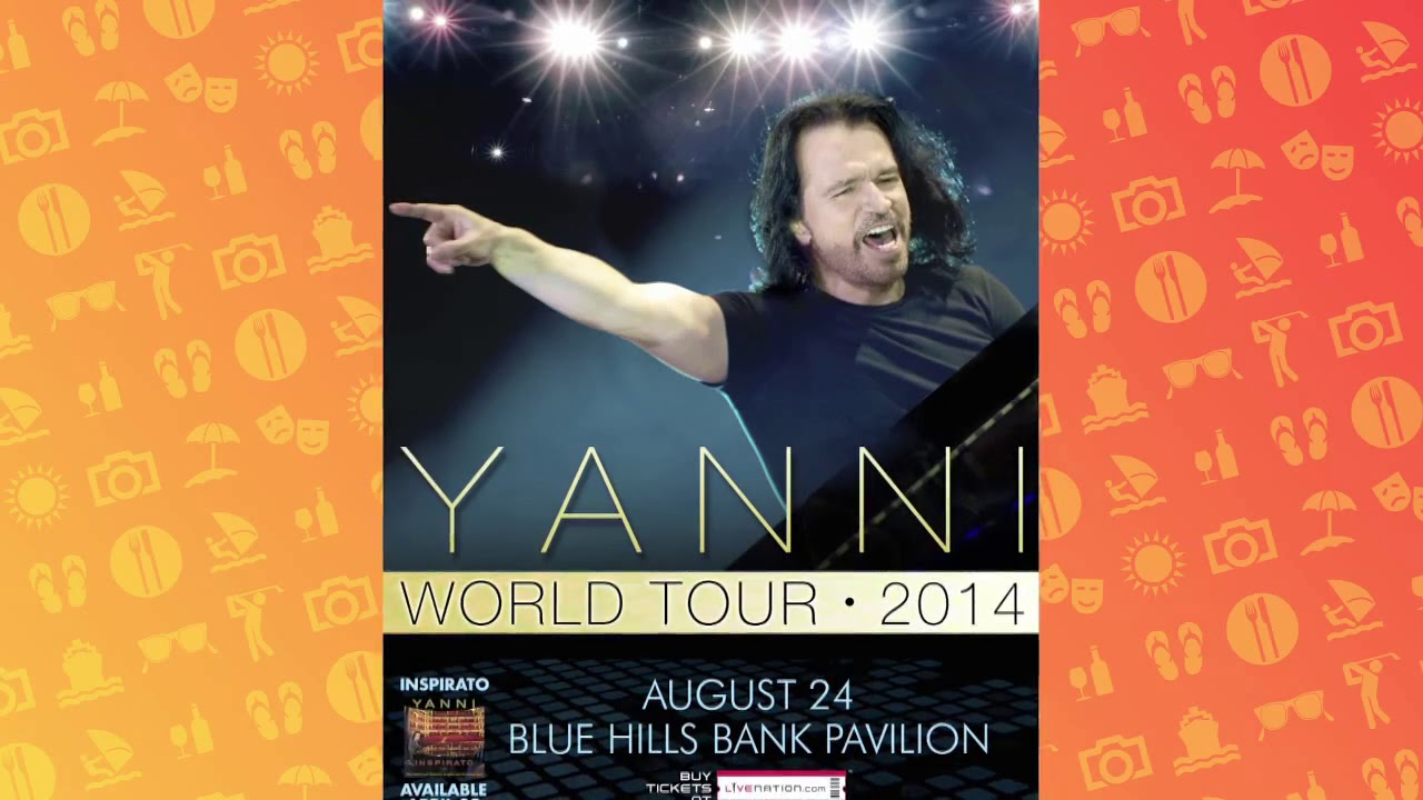 2014 WGBH Auction – 4 Premium Tickets to Yanni at Blue Hills Bank Pavilion