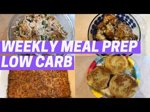weekly-meal-prep-|-low-carb-|-loaded-chicken-salad,-garlic-parm-wings-+-more!