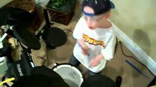 jaxon smith 5 yr old self taught drummer panic switch silversun pickups