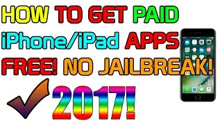 How to Get Any Paid iPhone App Free 2017! NO JAILBREAK! PC - VSHARE! iOS 10-10.2
