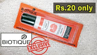 Biotique Bio Almond Lip Balm Review | Best Lip Balm for Dry & Chapped Lips | Sneh Style.