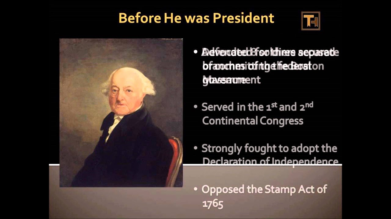 the early life and presidency of john adams John quincy adams biography, the sixth president of the united states, was the son of john adams, the second president of the united states.