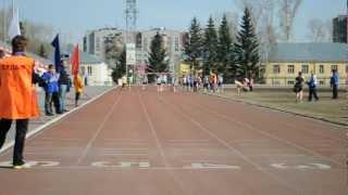 Спринт (60 метров), девочки