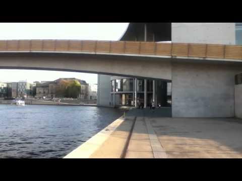 BERLIN Summer 2011 - canal by Bundestag and Haus der Kultur