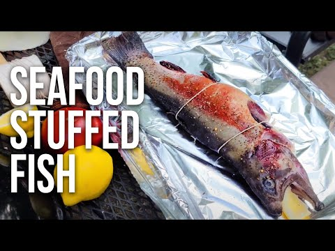 Seafood Stuffed Fish