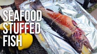 Seafood Stuffed Fish