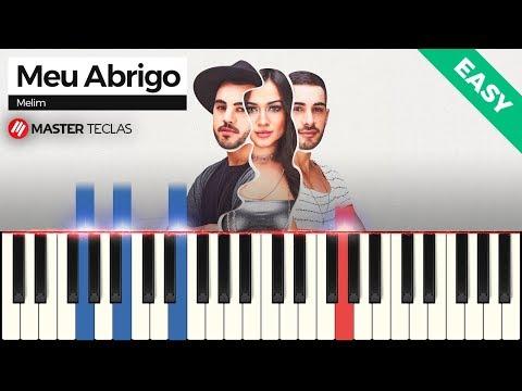 💎 Meu Abrigo - EASY- Melim  Piano Tutorial 💎