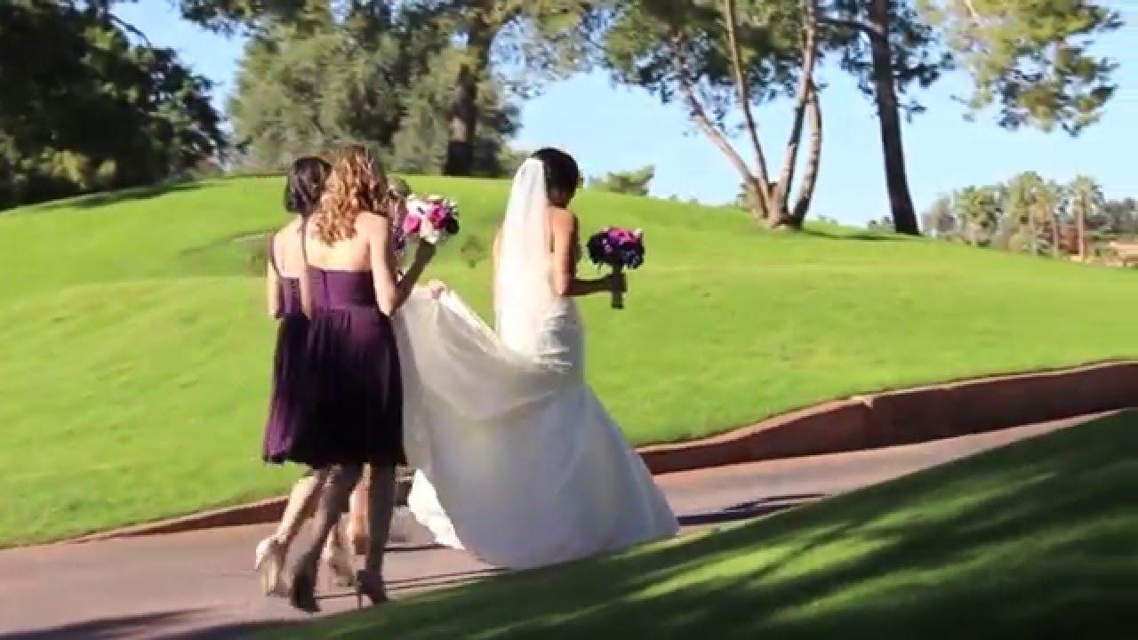 Ocotillo Golf Resort Wedding Extended Phoenix Az Videographer Distinctive Videos