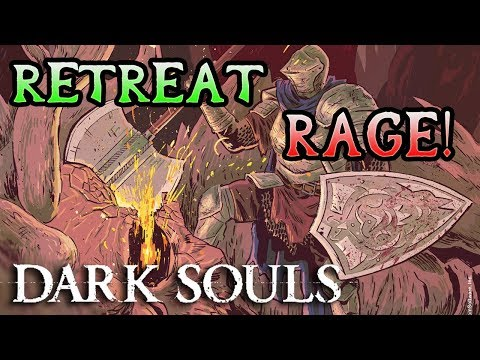 ESCAPING THE TOMB! Dark Souls Hard Mod Rage! (#16)