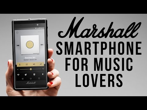 Best Smartphone for Music Lovers? Marshall London Phone Hands-On
