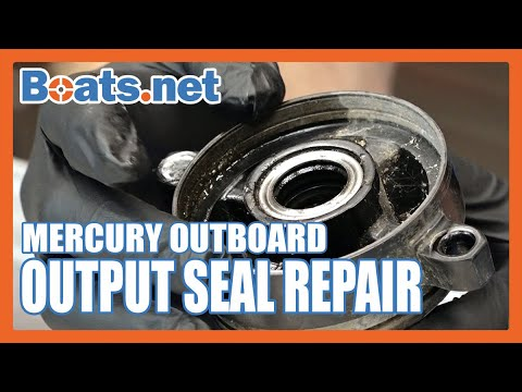 Mercury 40HP Prop Seal Replacement | Mercury 40 Outboard Output Seal Replacement | Boats.net