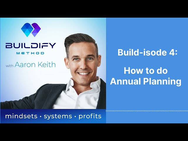 Build-isode 4: How to do Annual Planning