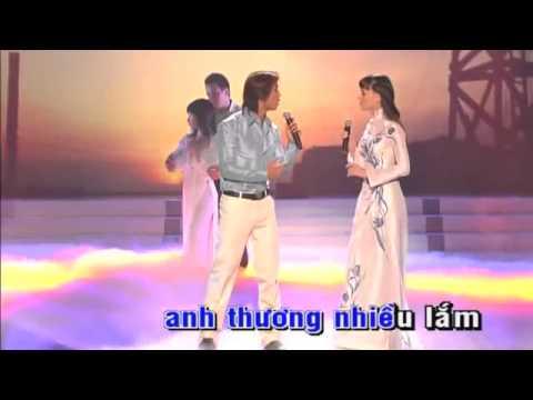 karaoke(hoadambut) lk Dem buon tinh le   Nhung doi hoa sim