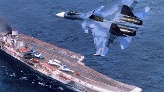 "Авианосец ""Адмирал Кузнецов""  наводит ужас на американских вояк!"