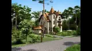Анимация дома в поселке Довиль 234(http://www.d-e-s-i-g-n.ru проект 2008 года., 2013-11-16T11:56:09.000Z)