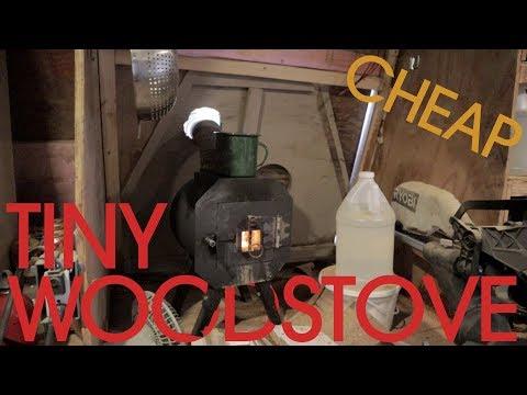 Tiny House Wood Stove - Sink or Swim 121