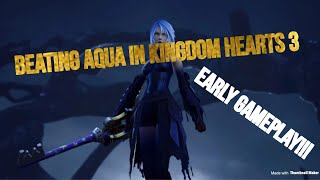 AQUA BOSS FIGHT LEAK KINGDOM HEARTS 3!!!
