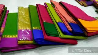 இளம்பிள்ளை சேலை ஏற்றுமதி new colection s  salem elampillai pattu sarees with export all countries