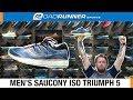Men's Saucony ISO Triumph 5 | Fit Expert Shoe Review