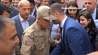 Jandarma Genel Komutanı Orgeneral Çetin, Nusaybin'de Esnafı ziyaret etti