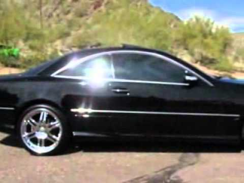 Phoenix Auto Sales >> 2003 Mercedes-Benz CL-Class CL500 Coupe - Phoenix, AZ - YouTube
