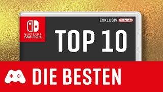 TOP 10 ► Die besten Spiele für die Switch ► Nintendo Exklusives 2017