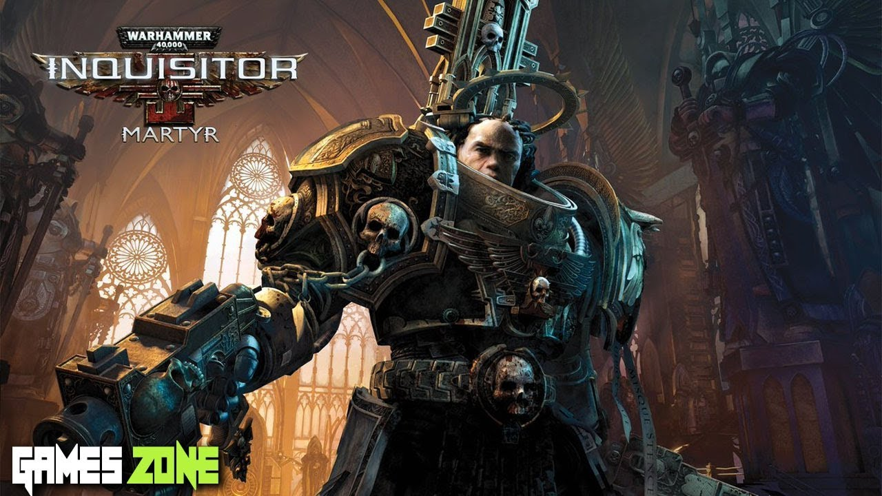 Warhammer 40K Inquisitor - Martyr Story Trailer : 2018 | Games Zone