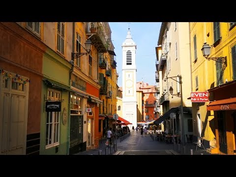 Walk Through Old Town Nice / Le Vieux Nice 🇫🇷 A French Roadtrip - Off The Rock Series 🌍