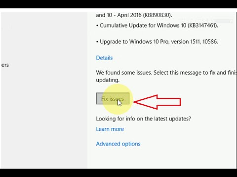 How to Fix Windows 10 Latest update 2016 (Can't Update, Fail to Update)