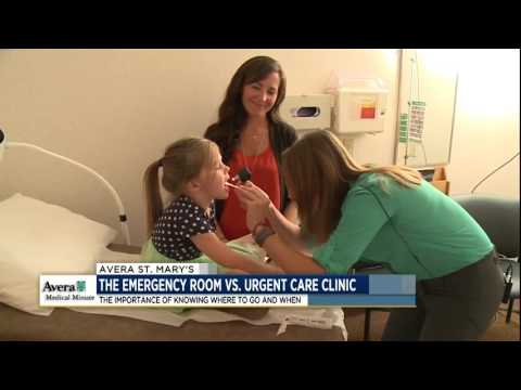 Emergency room vs. urgent care - Medical Minute