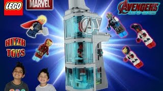 Lego Avengers Age Of Ultron: Attack On Avengers Tower  76038