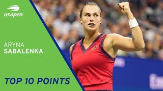 Aryna Sabalenka | Top 10 Points