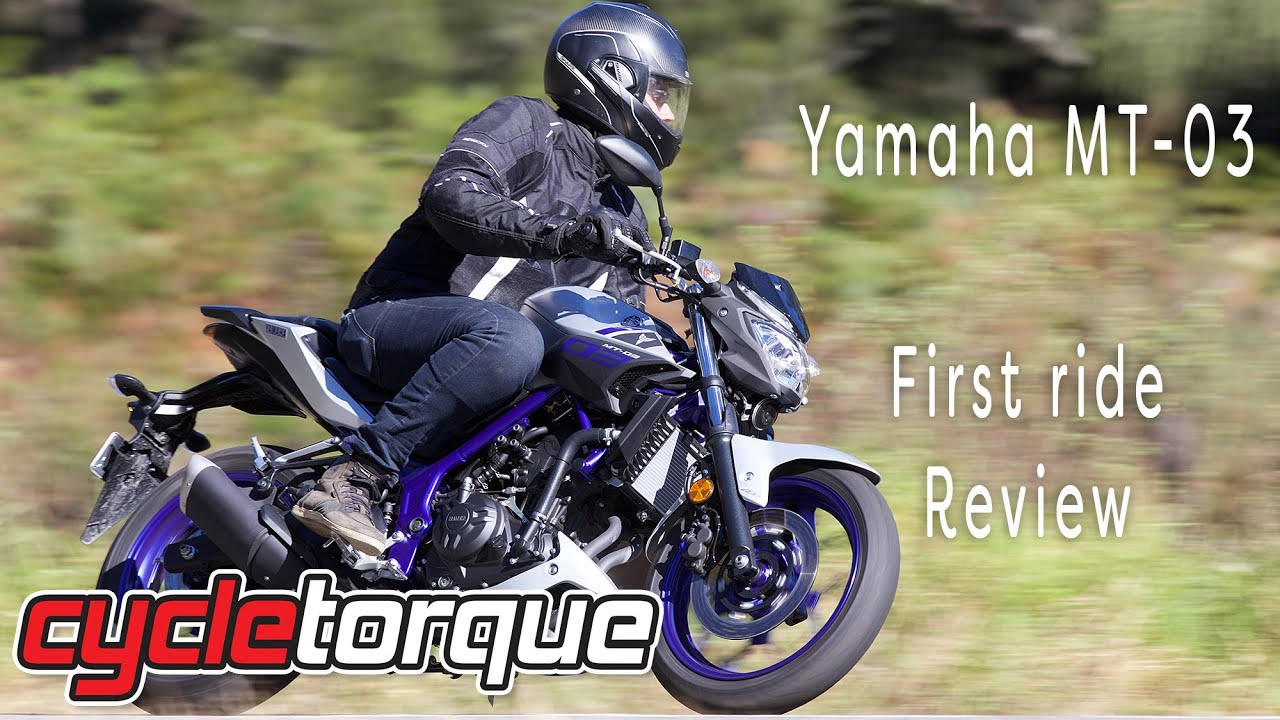 Yamaha MT 03 - 2016 Model review
