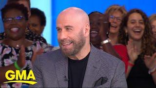 John Travolta talks new movie 'The Fanatic' | GMA